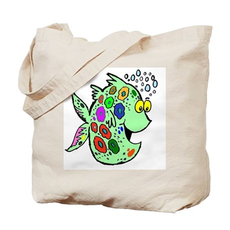 Cartoon Fish Tote Bag