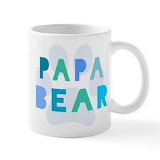 Papa bear Small Mug