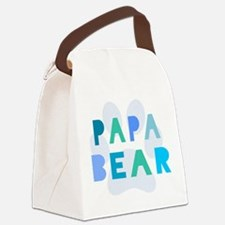Papa bear Canvas Lunch Bag