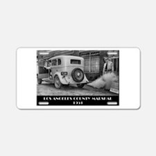 Los Angele County Marshal Aluminum License Plate