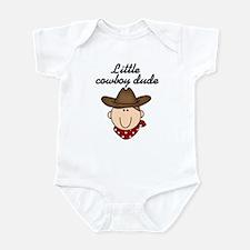 Little Cowboy Dude Infant Body Suit