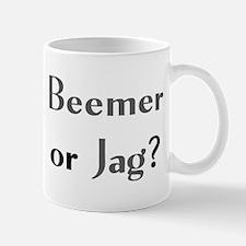 beemer or jag Mug
