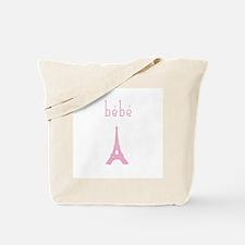 Bebe Girl Eiffel Tower Tote Bag