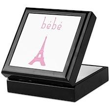 Bebe Girl Eiffel Tower Keepsake Box