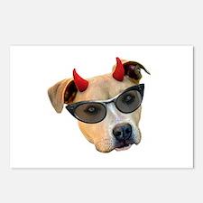 Devil Dog Sunglasses Postcards (Package of 8)