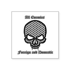 All Enemies Skull Sticker