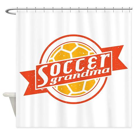 Soccer Grandma Shower Curtain