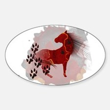 The Indian Pony Decal