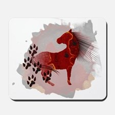 The Indian Pony Mousepad