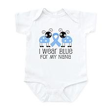 Nana Light Blue Awareness Infant Bodysuit