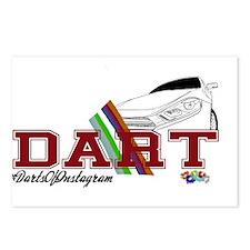 dart Postcards (Package of 8)