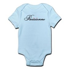 Parisienne, french word art with red hearts Body S