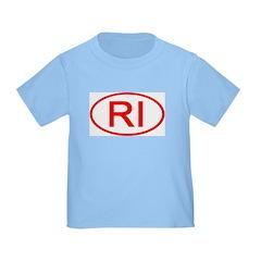 RI Oval - Rhode Island T