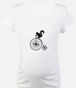 squirrel on vintage bicycle Shirt