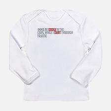 dodge traffic Long Sleeve T-Shirt