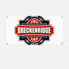 Breckenridge Old Label Banner