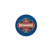 Breckenridge Old Label Mini Button