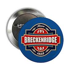 """Breckenridge Old Label 2.25"""" Button"""