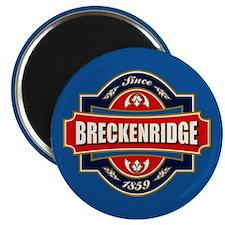 Breckenridge Old Label Magnet
