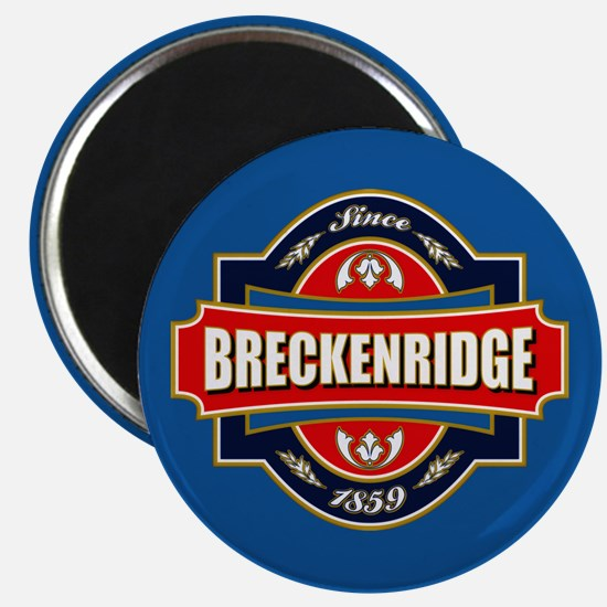 Breckenridge Old Label Magnet