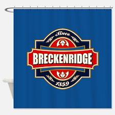 Breckenridge Old Label Shower Curtain