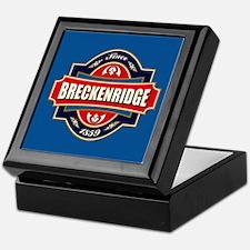 Breckenridge Old Label Keepsake Box