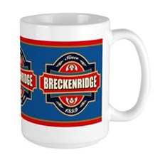 Breckenridge Old Label Mug