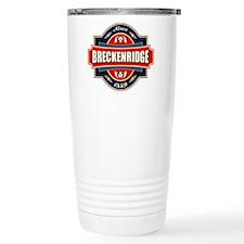 Breckenridge Old Label Travel Mug