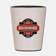 Breckenridge Old Label Shot Glass