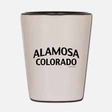 Alamosa Colorado Shot Glass