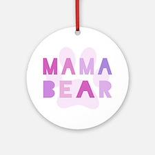 Mama bear Ornament (Round)