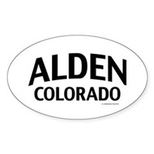 Alden Colorado Decal