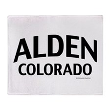Alden Colorado Throw Blanket