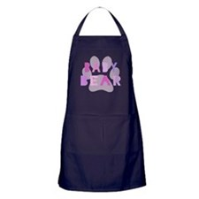 Baby bear - baby girl Apron (dark)