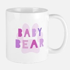 Baby bear - baby girl Small Mug
