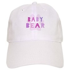 Baby bear - baby girl Baseball Cap