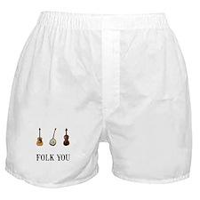 Folk You Boxer Shorts