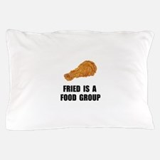 Fried Food Group Pillow Case