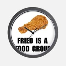 Fried Food Group Wall Clock