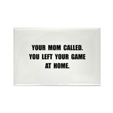 Game At Home Rectangle Magnet (10 pack)