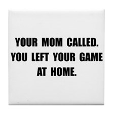 Game At Home Tile Coaster