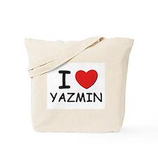 I love Yazmin Tote Bag