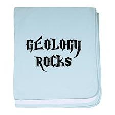 Geology Rocks baby blanket