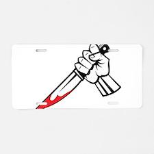 Murder Aluminum License Plate