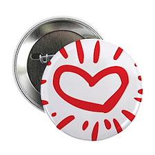 """Lovely Heart 2.25"""" Button"""
