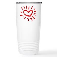 Lovely Heart Travel Mug