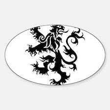 Heraldry Lion Decal