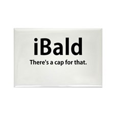 iBald Rectangle Magnet (100 pack)