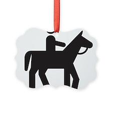 Horse Rider Ornament