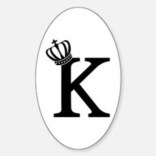 CSAR King Sticker (Oval)